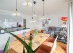 Ansicht Essen Küche 2Wohnzimmer