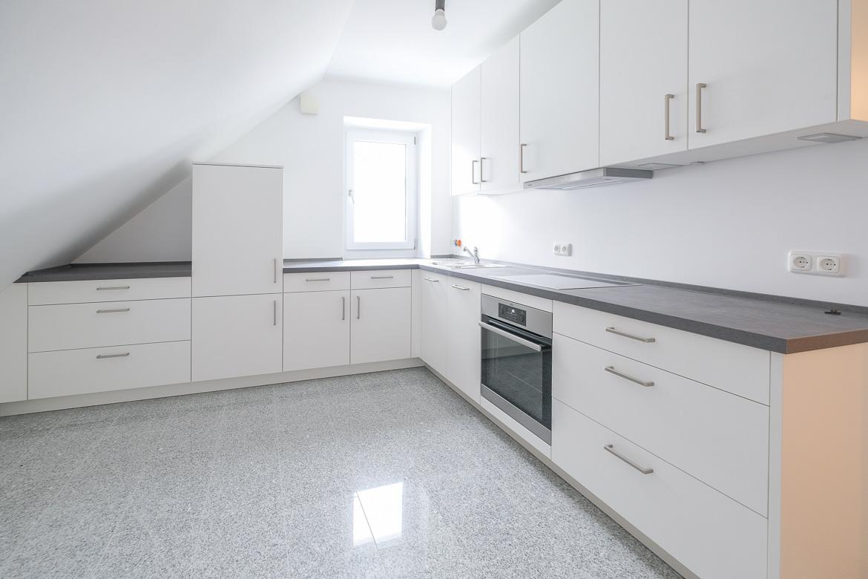 Küche Ansicht 1xWohnzimmer